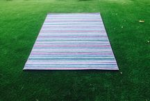 Alfombras exterior / Outdoor carpets / Alfombras de exterior polivalentes./ Polyvalent outdoor carpets.