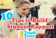 Building relationships with students / How to gain trust from your class