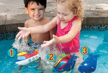 Water/Beach Toys / Splish, splash! Take these toys to the beach, by the pool, or even in the tub if you're feeling adventurous!