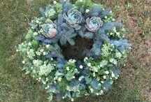 Funeral flower decoration