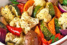 Verduras horno