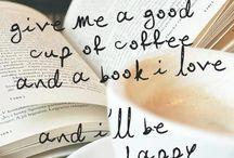 Books, Coffee, (Tea).