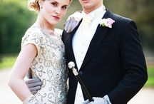Gatsby inspired photos / Photography inspiration for Great Gatsby inspired styling, parties, and sets.
