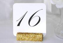 Glitter Wedding Decor Ideas / Glitter Wedding Decor Ideas