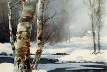 Kış manzaralari