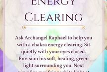 Archangel raphael, clearing chakras