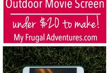 Outdoor Movie Ideas
