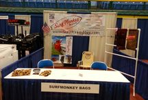 Trade Shows / Surfmonkey Bags Appearing at different Tradeshows