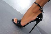 Krista heels & clothes