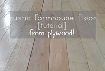DIY Wood floors!