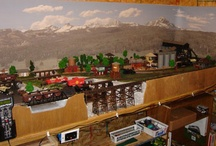 Bob's Model Railroad Layout / Bob is back with a nice set of images of his latest Model Railroad.  / by Model Trains