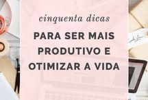 Eu Organizado / Dicas e ideias pra facilitar a vida.