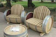 Wijnvat stoelen