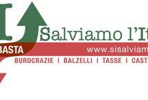 RETE SI  www.sisalviamolitalia.it  / LAVORIAMO PER UNO STATO MIGLIORE,  con meno tasse, meno burocrazia e più valorizzazione delle imprese e del lavoro