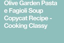 Recipes olive gardn