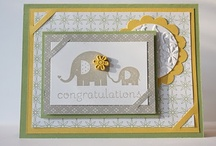 Stampin Up Set - Baby Steps