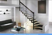Escaleras / ¿Te gusta esta escalera? Visita http://www.servimania.es/ para pedir un presupuesto gratis.