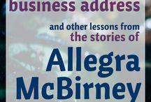 Allegra McBirney / author, speaker, missionary, hymn writer, and illustrator Allegra McBirney