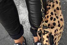 Léopard / L'imprimé léopard toujours dans le coup / Leopard print always in focus