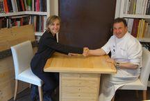 Gastronomía y Movilidad Sostenible / TBK Bike y el prestigioso chef español, juntos en un nuevo proyecto en común donde fusionan, entre fogones,  arte, ciclismo, movilidad sostenible y alta cocina.   http://www.tbkbike.com/es/blog/entry/tbk-bike-y-martin-berasategui-innovadora-colaboracion-para-unir-lo-mejor-de-la-gastronomia-con-la-movilidad-sostenible