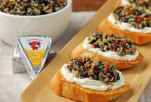 laughing cow snack ideas / by Dawn Hilton