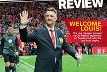 MUFC: United Review 2014/15 / All the front covers from the iconic Manchester United matchday programme, United Review.