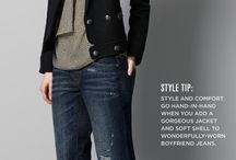 Jacket & Jeans / Casual look for office work