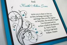 Invitations / by Michele Sowell