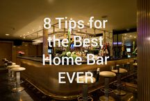 Home Bar 101 / Tips, advice, and info to create the best home bar ever!
