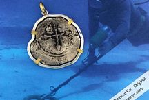 Shipwreck Treasure / Authentic Shipwreck Treasure carefully conserved and custom bezeled by Robert Knecht, Historian and Treasure Salvor.