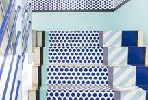 Interior: blue
