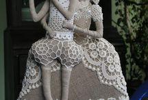 panenky textilní