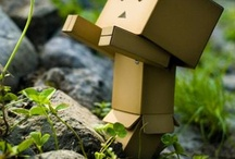 cute box people / They are so cute