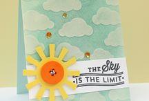 in the sky kinda cards....
