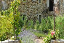 Provence style / provence architecture, provence landscape,