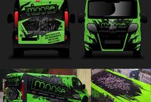 Vehicle Wraps / Cars, Vans and Buses and boat wraps
