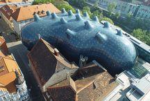 Blob architecture / Architectures de formes molles