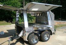Farrier trailer