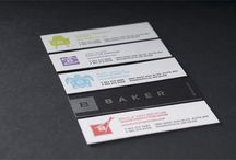 Business Cards / Business card design / by Victoria Montilla