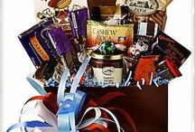 Gourmet Gift Baskets / A nice selection of gift baskets we offer at BLOSSOMS.  More at www.blossomsofspringfield.com