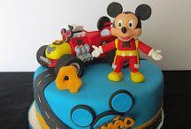 Bolos Mickey e os Super Pilotos