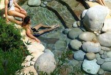bazén zahrada