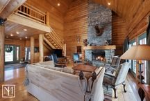Mountain Luxury Cabins / Locate your next mountain retreat on these pages of luxurious high mountain cabins. Whether it's skiing, snowshoeing, hiking, fishing or just relaxing in the woods that recharges your batteries, you'll find it here.
