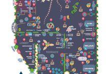 Music Festival Maps