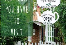 Tea Rooms + Shops