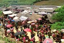 Bac Ha / El mercado tribal de Bac Ha, en el norte de Vietnam.