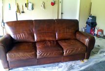Leather Sofa Dying Ideas