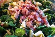 Salad Recipes / by Brea Buffaloe