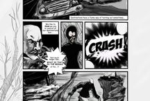 Whilshire Manor / This is my current webcomic hosted on Webtoons and Comics Fury.