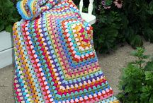 Crochet - Granny / Blocks / by Ginger Alumbaugh